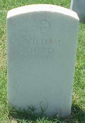 HERD (VETERAN UNION), WILLIAM - Pulaski County, Arkansas | WILLIAM HERD (VETERAN UNION) - Arkansas Gravestone Photos