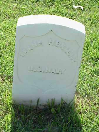 HERMAN (VETERAN UNION), FRANK - Pulaski County, Arkansas | FRANK HERMAN (VETERAN UNION) - Arkansas Gravestone Photos