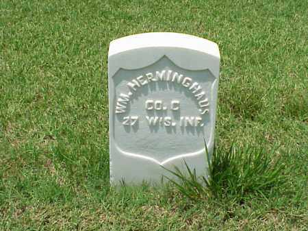 HERMINGHAUS (VETERAN UNION), WILLIAM - Pulaski County, Arkansas | WILLIAM HERMINGHAUS (VETERAN UNION) - Arkansas Gravestone Photos