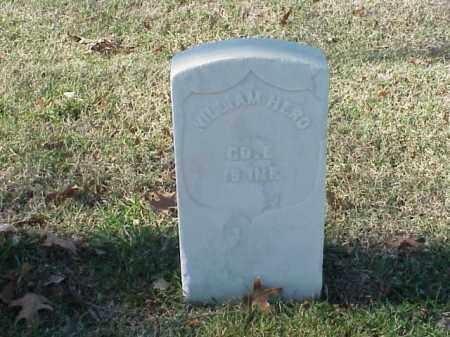 HERO  (VETERAN UNION), WILLIAM - Pulaski County, Arkansas | WILLIAM HERO  (VETERAN UNION) - Arkansas Gravestone Photos
