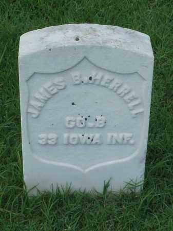HERRELL (VETERAN UNION), JAMES B - Pulaski County, Arkansas | JAMES B HERRELL (VETERAN UNION) - Arkansas Gravestone Photos