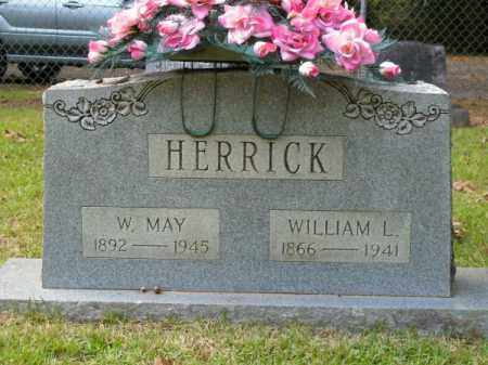 HERRICK, W MAY - Pulaski County, Arkansas | W MAY HERRICK - Arkansas Gravestone Photos