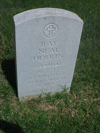 HERRIN (VETERAN 2 WARS), RAY NEAL - Pulaski County, Arkansas | RAY NEAL HERRIN (VETERAN 2 WARS) - Arkansas Gravestone Photos