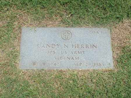 HERRIN (VETERAN VIET), RANDY N - Pulaski County, Arkansas | RANDY N HERRIN (VETERAN VIET) - Arkansas Gravestone Photos