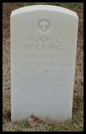HERRING (VETERAN WWII), HUGH L - Pulaski County, Arkansas | HUGH L HERRING (VETERAN WWII) - Arkansas Gravestone Photos