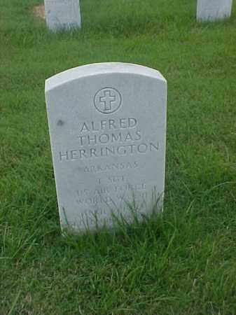 HERRINGTON (VETERAN WWII), ALFRED THOMAS - Pulaski County, Arkansas | ALFRED THOMAS HERRINGTON (VETERAN WWII) - Arkansas Gravestone Photos