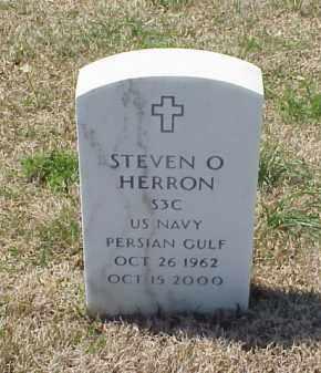 HERRON (VETERAN PGW), STEVEN O - Pulaski County, Arkansas | STEVEN O HERRON (VETERAN PGW) - Arkansas Gravestone Photos