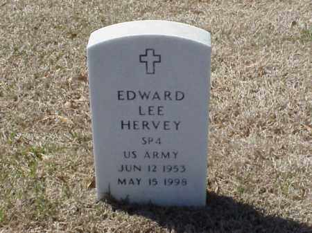 HERVEY (VETERAN), EDWARD LEE - Pulaski County, Arkansas | EDWARD LEE HERVEY (VETERAN) - Arkansas Gravestone Photos