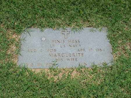 HESS (VETERAN 2 WARS), FINIS - Pulaski County, Arkansas | FINIS HESS (VETERAN 2 WARS) - Arkansas Gravestone Photos