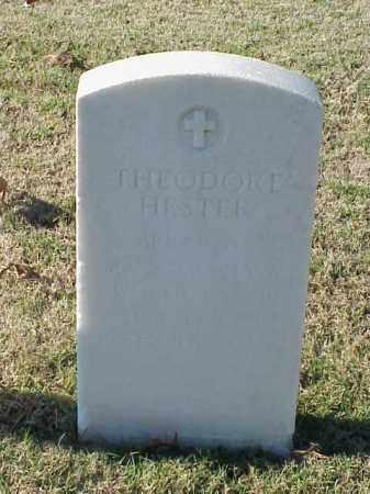 HESTER  (VETERAN WWII), THEODORE - Pulaski County, Arkansas | THEODORE HESTER  (VETERAN WWII) - Arkansas Gravestone Photos