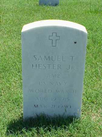 HESTER, JR (VETERAN WWII), SAMUEL T - Pulaski County, Arkansas   SAMUEL T HESTER, JR (VETERAN WWII) - Arkansas Gravestone Photos