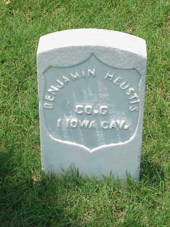 HEUSTIS (VETERAN UNION), BENJAMIN - Pulaski County, Arkansas | BENJAMIN HEUSTIS (VETERAN UNION) - Arkansas Gravestone Photos