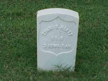 HIATT (VETERAN UNION), ZIMRI B - Pulaski County, Arkansas | ZIMRI B HIATT (VETERAN UNION) - Arkansas Gravestone Photos
