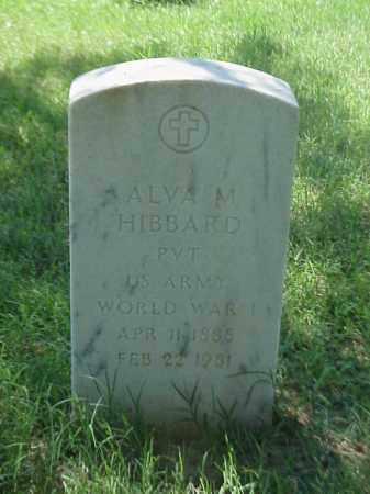 HIBBARD (VETERAN WWI), ALVA M - Pulaski County, Arkansas | ALVA M HIBBARD (VETERAN WWI) - Arkansas Gravestone Photos