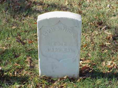 HICKS  (VETERAN UNION), JOHN S - Pulaski County, Arkansas | JOHN S HICKS  (VETERAN UNION) - Arkansas Gravestone Photos
