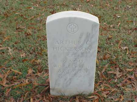 HICKERSON  (VETERAN WWII), ARTHUR C - Pulaski County, Arkansas | ARTHUR C HICKERSON  (VETERAN WWII) - Arkansas Gravestone Photos