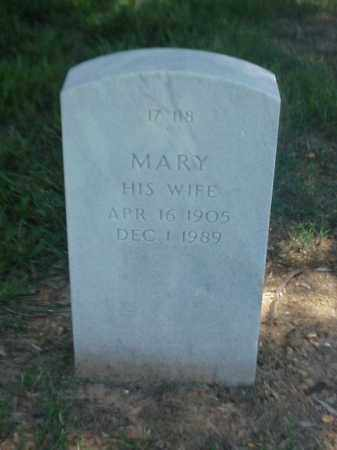 HICKEY, MARY - Pulaski County, Arkansas | MARY HICKEY - Arkansas Gravestone Photos