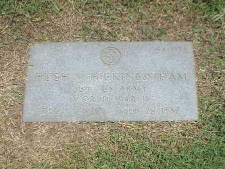 HICKINBOTHAM (VETERAN WWII), HUGH V - Pulaski County, Arkansas | HUGH V HICKINBOTHAM (VETERAN WWII) - Arkansas Gravestone Photos