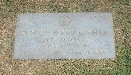 HICKINBOTHAM (VETERAN WWII), HUGH V - Pulaski County, Arkansas | HUGH V HICKINBOTHAM (VETERAN WWII) - Arkansas Gravestone Photos