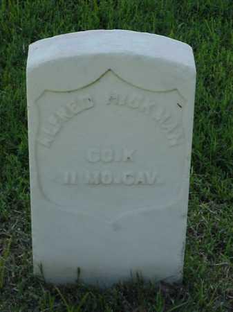 HICKMAN (VETERAN UNION), ALFRED - Pulaski County, Arkansas | ALFRED HICKMAN (VETERAN UNION) - Arkansas Gravestone Photos