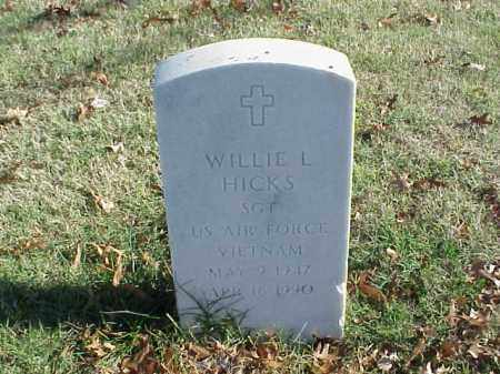 HICKS  (VETERAN VIET), WILLIE L - Pulaski County, Arkansas | WILLIE L HICKS  (VETERAN VIET) - Arkansas Gravestone Photos