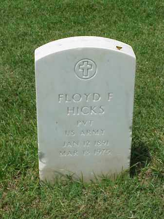 HICKS (VETERAN WWI), FLOYD F - Pulaski County, Arkansas | FLOYD F HICKS (VETERAN WWI) - Arkansas Gravestone Photos