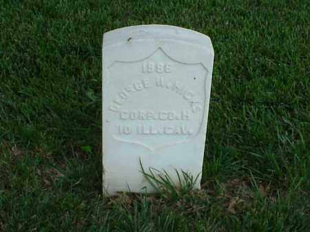 HICKS (VETERAN UNION), GEORGE W - Pulaski County, Arkansas | GEORGE W HICKS (VETERAN UNION) - Arkansas Gravestone Photos