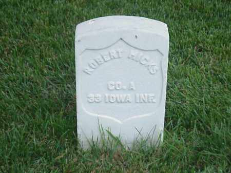 HICKS (VETERAN UNION), ROBERT - Pulaski County, Arkansas | ROBERT HICKS (VETERAN UNION) - Arkansas Gravestone Photos