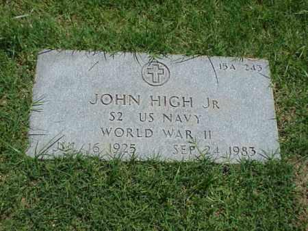 HIGH, JR (VETERAN WWII), JOHN - Pulaski County, Arkansas | JOHN HIGH, JR (VETERAN WWII) - Arkansas Gravestone Photos