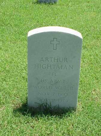 HIGHTAIAN (VETERAN WWII), ARTHUR - Pulaski County, Arkansas | ARTHUR HIGHTAIAN (VETERAN WWII) - Arkansas Gravestone Photos