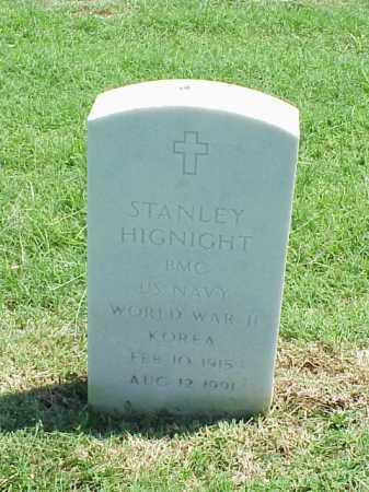 HIGNIGHT (VETERAN 2 WARS), STANLEY - Pulaski County, Arkansas | STANLEY HIGNIGHT (VETERAN 2 WARS) - Arkansas Gravestone Photos