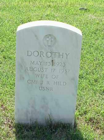 HILD, DOROTHY - Pulaski County, Arkansas | DOROTHY HILD - Arkansas Gravestone Photos