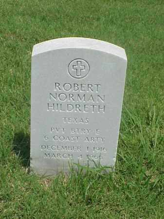 HILDRETH (VETERAN WWII), ROBERT NORMAN - Pulaski County, Arkansas | ROBERT NORMAN HILDRETH (VETERAN WWII) - Arkansas Gravestone Photos