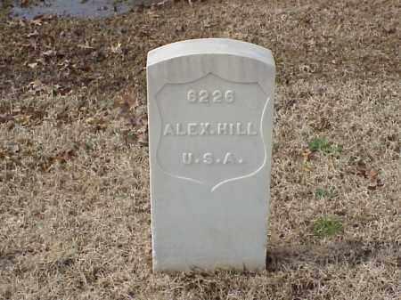 HILL  (VETERAN WWI), ALEXANDER - Pulaski County, Arkansas | ALEXANDER HILL  (VETERAN WWI) - Arkansas Gravestone Photos