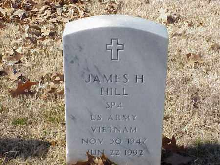 HILL  (VETERAN VIET), JAMES H - Pulaski County, Arkansas | JAMES H HILL  (VETERAN VIET) - Arkansas Gravestone Photos