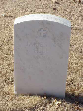 HILL  (VETERAN WWI), JAMES W - Pulaski County, Arkansas | JAMES W HILL  (VETERAN WWI) - Arkansas Gravestone Photos