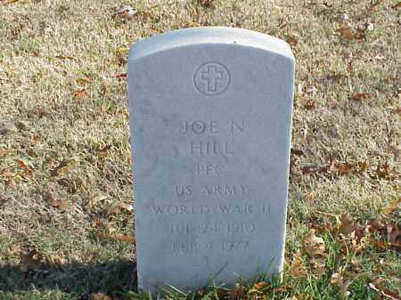HILL  (VETERAN WWII), JOE N - Pulaski County, Arkansas | JOE N HILL  (VETERAN WWII) - Arkansas Gravestone Photos