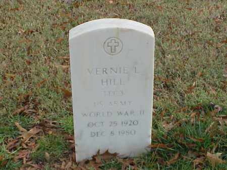 HILL  (VETERAN WWII), VERNIE L - Pulaski County, Arkansas | VERNIE L HILL  (VETERAN WWII) - Arkansas Gravestone Photos