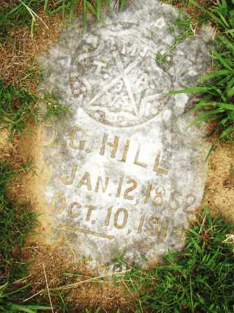 HILL, D. G. - Pulaski County, Arkansas | D. G. HILL - Arkansas Gravestone Photos