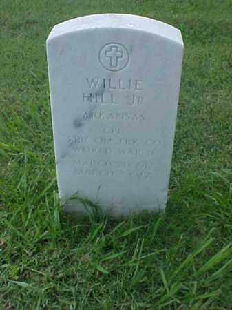 HILL, JR (VETERAN WWII), WILLIE - Pulaski County, Arkansas | WILLIE HILL, JR (VETERAN WWII) - Arkansas Gravestone Photos