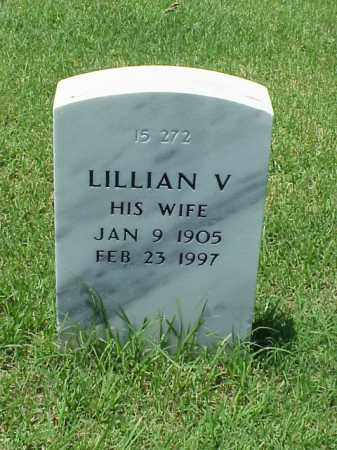 HILL, LILLIAN V - Pulaski County, Arkansas | LILLIAN V HILL - Arkansas Gravestone Photos