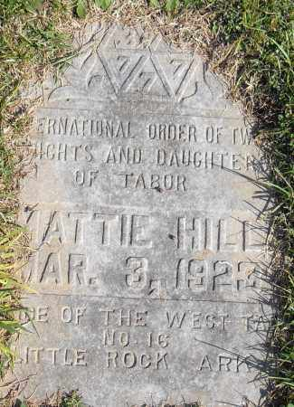 HILL, MATTIE - Pulaski County, Arkansas | MATTIE HILL - Arkansas Gravestone Photos
