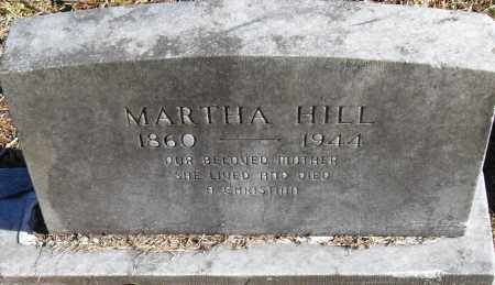 HILL, MARTHA - Pulaski County, Arkansas | MARTHA HILL - Arkansas Gravestone Photos