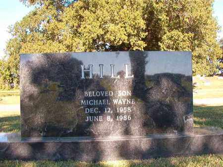 HILL, MICHAEL WAYNE - Pulaski County, Arkansas | MICHAEL WAYNE HILL - Arkansas Gravestone Photos