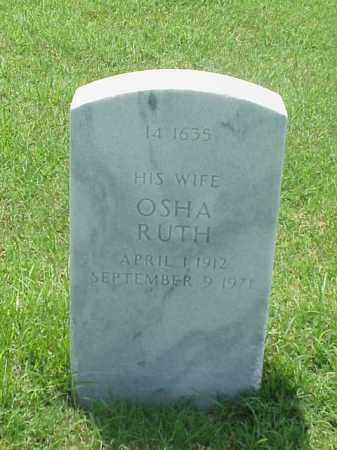 HILL, OSHA RUTH - Pulaski County, Arkansas | OSHA RUTH HILL - Arkansas Gravestone Photos