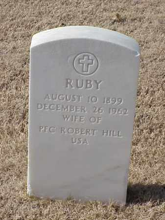 HILL, RUBY - Pulaski County, Arkansas | RUBY HILL - Arkansas Gravestone Photos