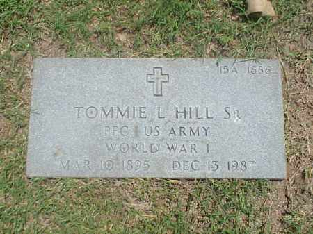 HILL, SR (VETERAN WWI), TOMMIE L - Pulaski County, Arkansas | TOMMIE L HILL, SR (VETERAN WWI) - Arkansas Gravestone Photos