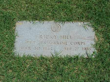 HILL (VETERAN), RICKY - Pulaski County, Arkansas | RICKY HILL (VETERAN) - Arkansas Gravestone Photos