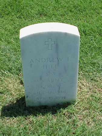 HILL (VETERAN KOR), ANDREW L - Pulaski County, Arkansas | ANDREW L HILL (VETERAN KOR) - Arkansas Gravestone Photos