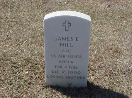 HILL (VETERAN KOR), JAMES E - Pulaski County, Arkansas | JAMES E HILL (VETERAN KOR) - Arkansas Gravestone Photos
